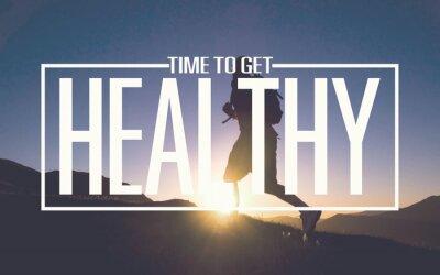 Фотообои Healthy Fit Diet Activity Sport Lifestyle Purpose Concept