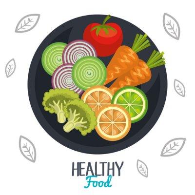 Фотообои здоровый дизайн еда