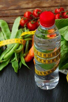 Фотообои Здоровое питание на столе