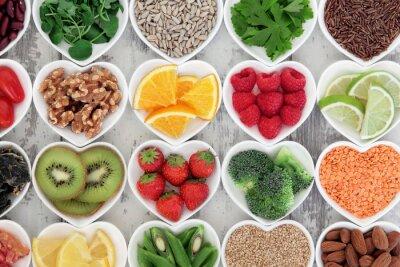 Фотообои Здоровое сердце еды