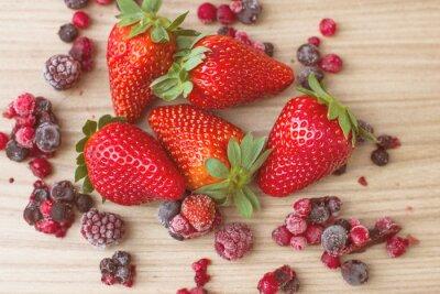 Фотообои Здоровые красные фрукты