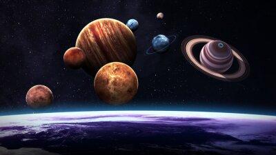 Фотообои Элементы этого изображения, предоставленную NASA