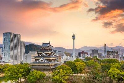 Фотообои Хиросима Япония Cityscape