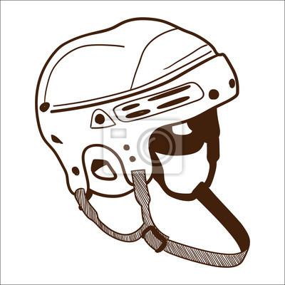 Как сделать рисунок на хоккейный шлем