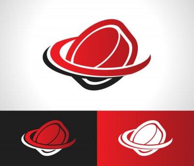 Фотообои Хоккейная шайба Логотип Иконка