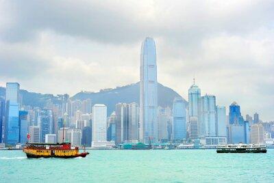 Фотообои Гонконг на пароме