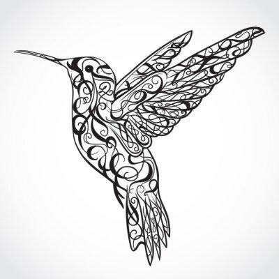 Фотообои Искусство татуировки. Ретро баннер, приглашение, открытка, лом бронирование.