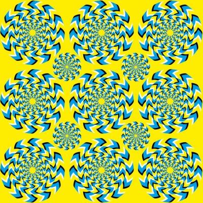 Фотообои Hypnotic вращения