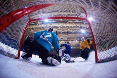 Фотообои хоккей вратарь