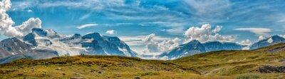 Фотообои Панорамный вид Icefield парк Глейшер