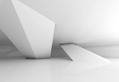 Фотообои Iinclined колонны и мягкие тени, 3d визуализации