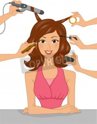 Makeup Clip Art Free Stock Photo  Public Domain Pictures