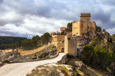 Фотообои Впечатляющий средневековый замок Аларкон, Испания