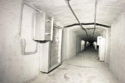 Фотообои промышленный интерьер системы vantilation тоннеля