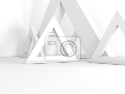 Фотообои Интерьер 3D рендеринга пустой