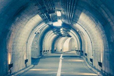 Фотообои Интерьер городской тоннель в горе без движения ..