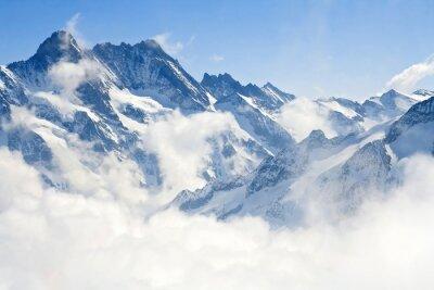 Фотообои Юнгфрауйох Альпы горный пейзаж