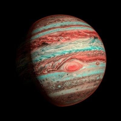 Фотообои Юпитер планета изолированных