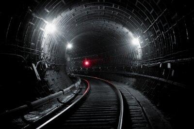 Фотообои Киев туннель метро