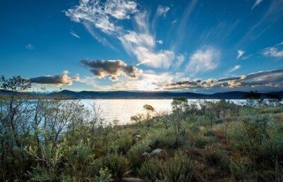Фотообои Озеро Jindabyne в Новом Южном Уэльсе.