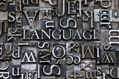 Фотообои язык