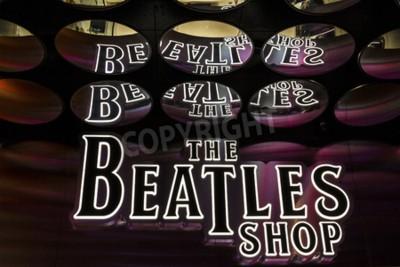 Фотообои Лас-Вегас - декабрь 2016 года: The Beatles Shop в The Mirage. Это единственный лицензированный розничный магазин Beatles I