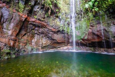 Фотообои Последний водопад Двадцать пять фонтанов Левада Пешеходные маршруты, Мадейра (Португалия)