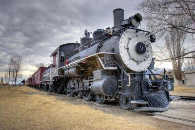 Фотообои Законы поезд