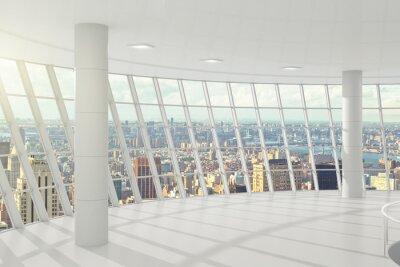 Фотообои Свет большой офис с окнами в пол
