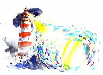 Фотообои маяк