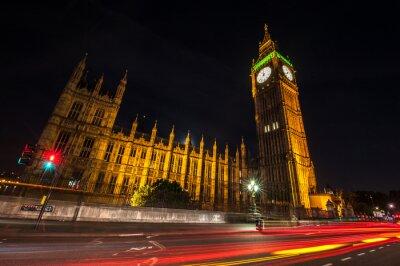 Фотообои Лондон Биг Бен в ночное время