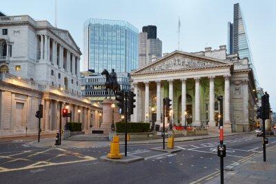 Фотообои Лондон Королевская биржа, торговый центр и Банк Англии