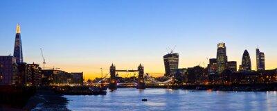 Фотообои London Skyline Панорамный
