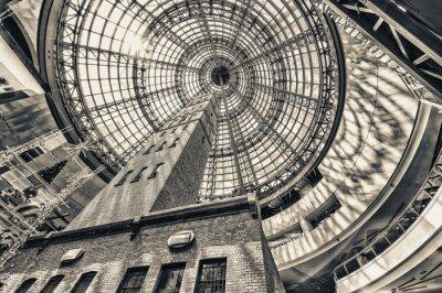 Фотообои Глядя вверх рядом выстрел башни на куполообразной крыше Мельбурн процента