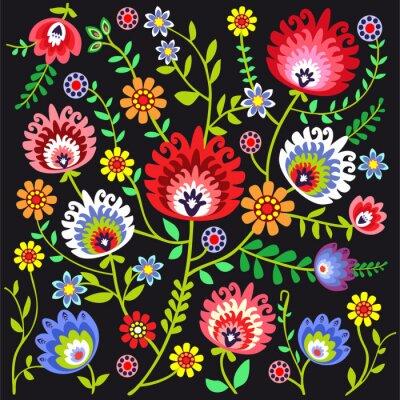 Фотообои ludowy Wzor Kwiatowy