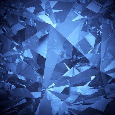 Фотообои Роскошный синий кристалл фон аспект