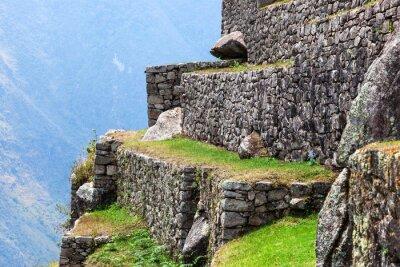 Фотообои Мачу-Пикчу, старые стены