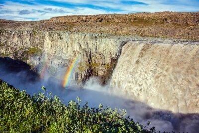 Фотообои Великолепный водопад Dettifoss