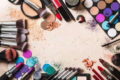 Фотообои Макияж продукты