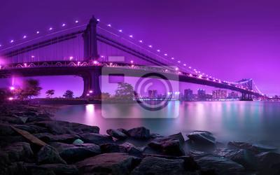 Фотообои Манхэттенский мост Нью-Йорк