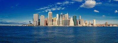 Фотообои Manhattan в солнечный день.