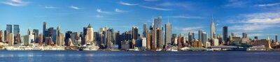 Фотообои Манхэттена горизонты панорама, Нью-Йорк