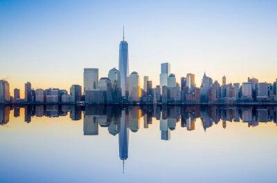 Фотообои Манхэттена горизонты с здания One World Trade Center в TW