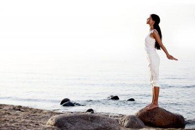 Фотообои медитация на песчаный пляж