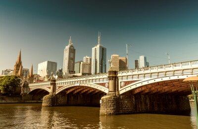 Фотообои Мельбурн, Виктория - Австралия. Красивый город небоскребов