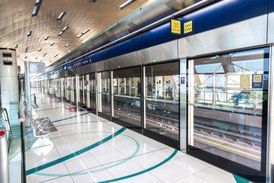 Фотообои Станция метро в Дубае
