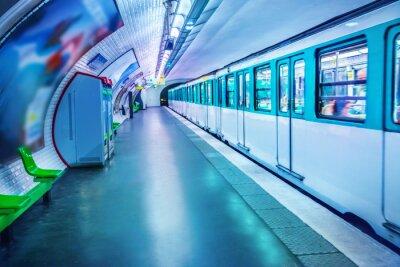 Фотообои Станция метро в Париже