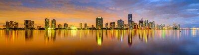 Фотообои Майами, Флорида залив Бискейн Skyline Панорама