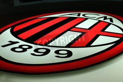 Фотообои Милан, Италия, 20 сентября, 2010 - Милан логотип.