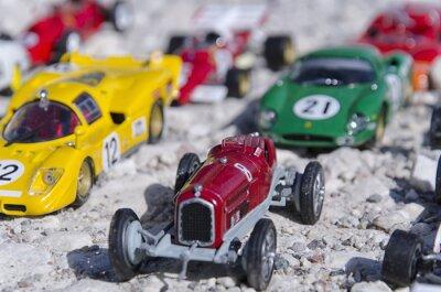 Фотообои Модели классических автомобилей на солнце